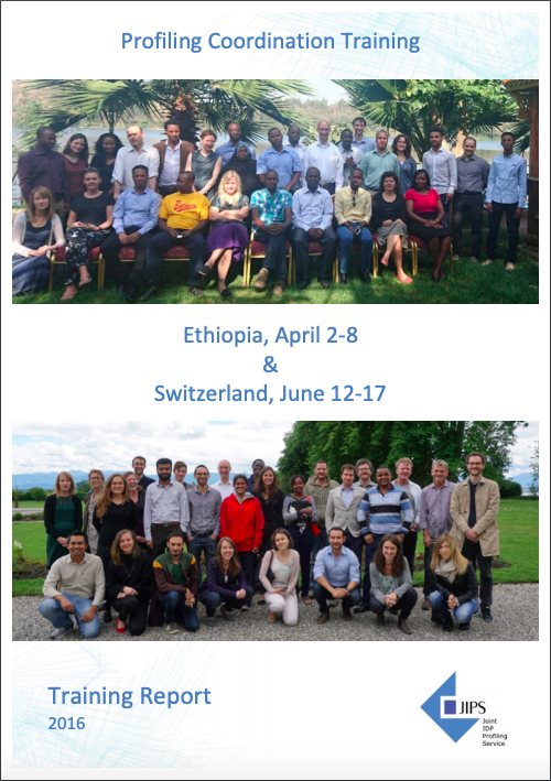 Report from the Profiling Coordination Training in Ethiopia & Switzerland (2016)