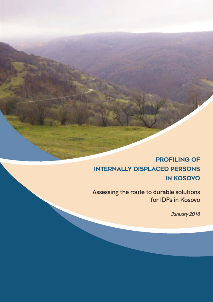 Profiling of Internally Displaced Persons in Kosovo (2018)