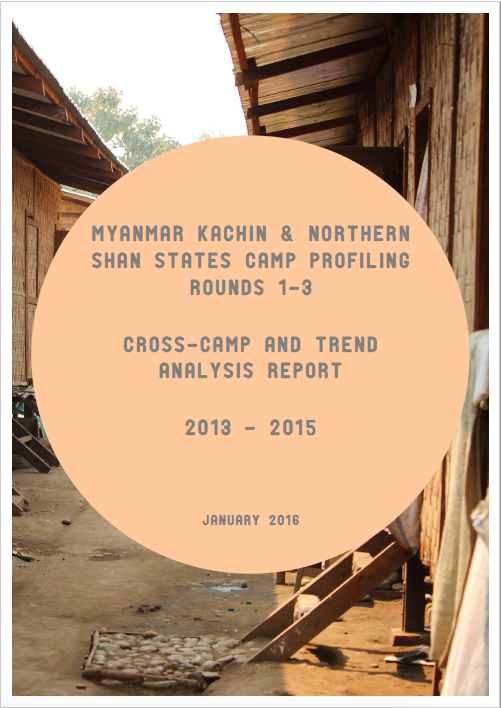 Myanmar Kachin and Northern Shan States Camp Profiling Rounds 1-3 (2013-2015)
