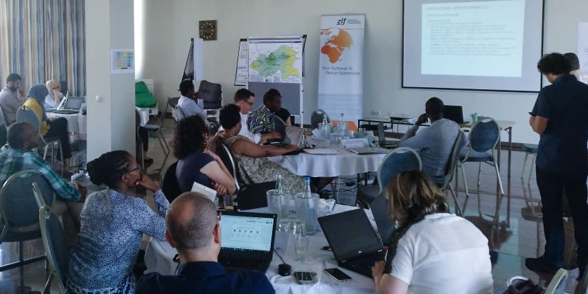 Assessing and analysing the needs of affected populations - JIPS participates in OCHA's Coordinated Assessment and Information Management (CAIM) Training