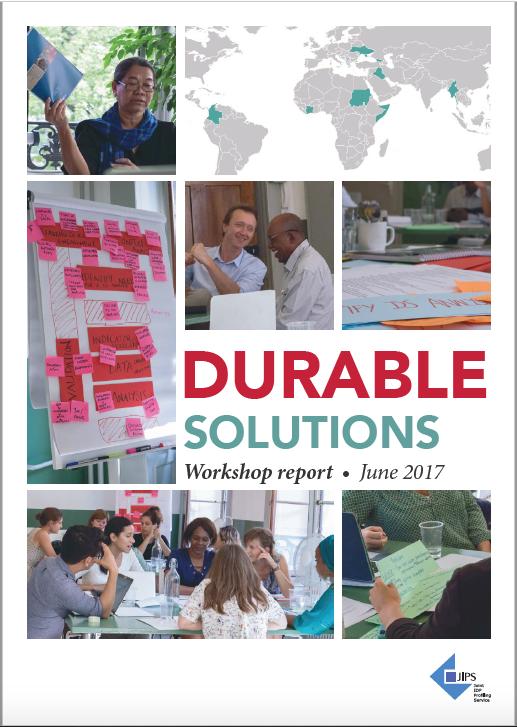 Durable Solutions Workshop Report (2017)