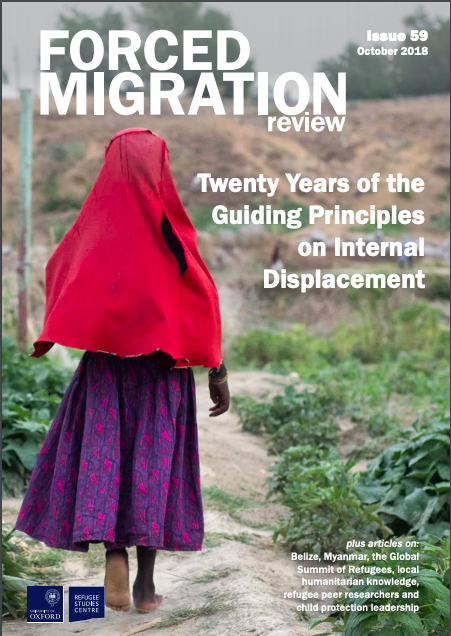 Forced Migration Review 59: 20 Years of the Guiding Principles on Internal Displacement
