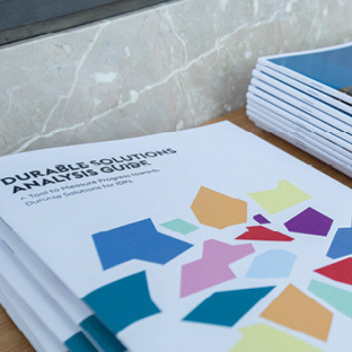 Launching the Durable Solutions Indicator Library & Analysis Guide to Support Solutions for IDPs