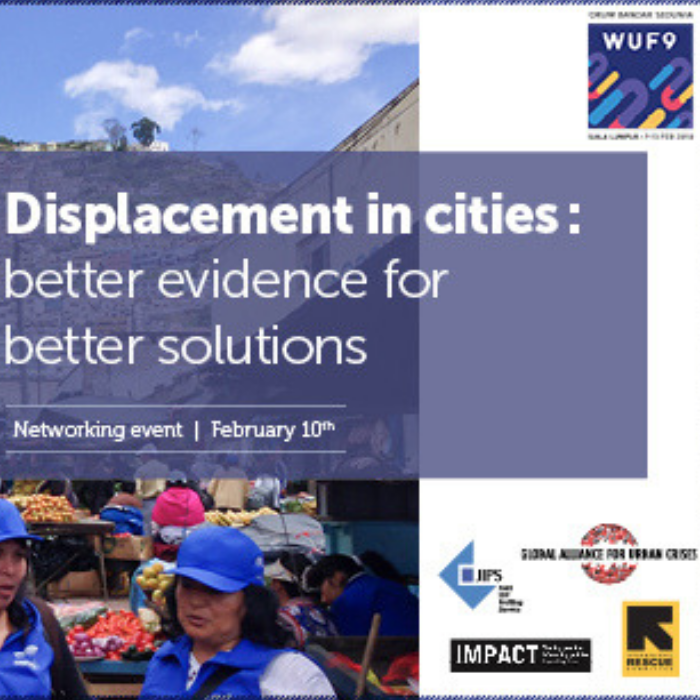 Displacement high on agenda at the 9th World Urban Forum