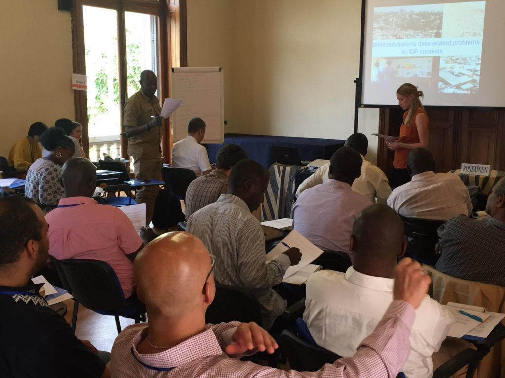 Increasing Government Capacity on International Norms: Integrating Data Sessions into IHL's Course on Internal Displacement Law