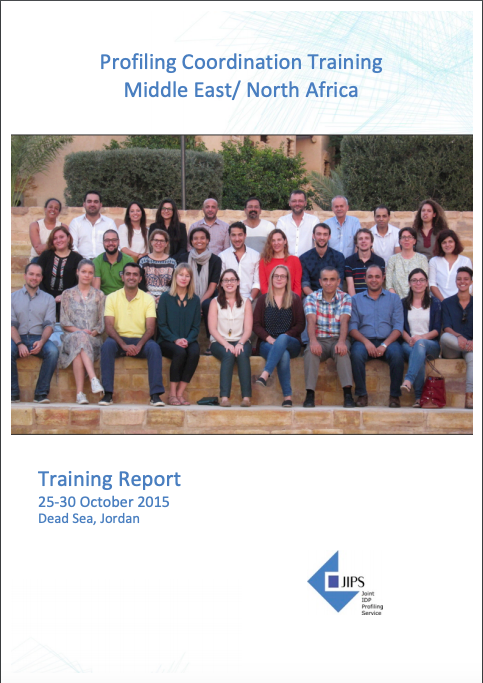Report from the Profiling Coordination Training in Jordan (2015)