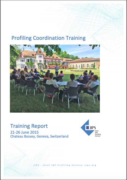 Report from the Profiling Coordination Training in Switzerland (2015)