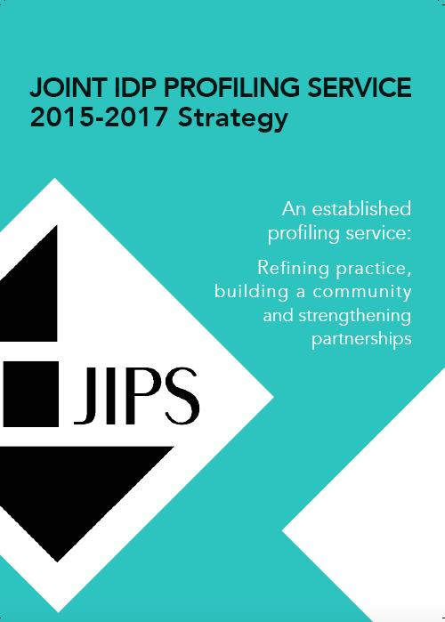 JIPS Strategy 2015 - 2017: An Established Profiling Service