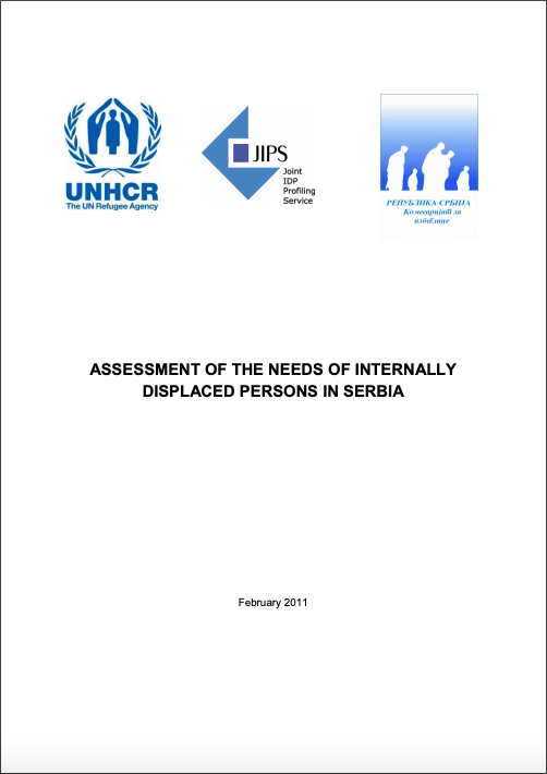 Assessment of the Needs of Internally Displaced Persons in Serbia (2011)