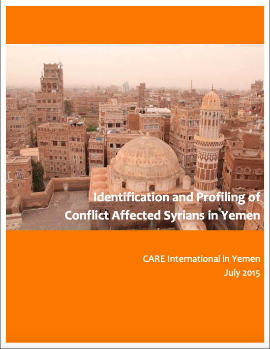 Identification & Profiling of Conflict Affected Syrians in Yemen (2015)