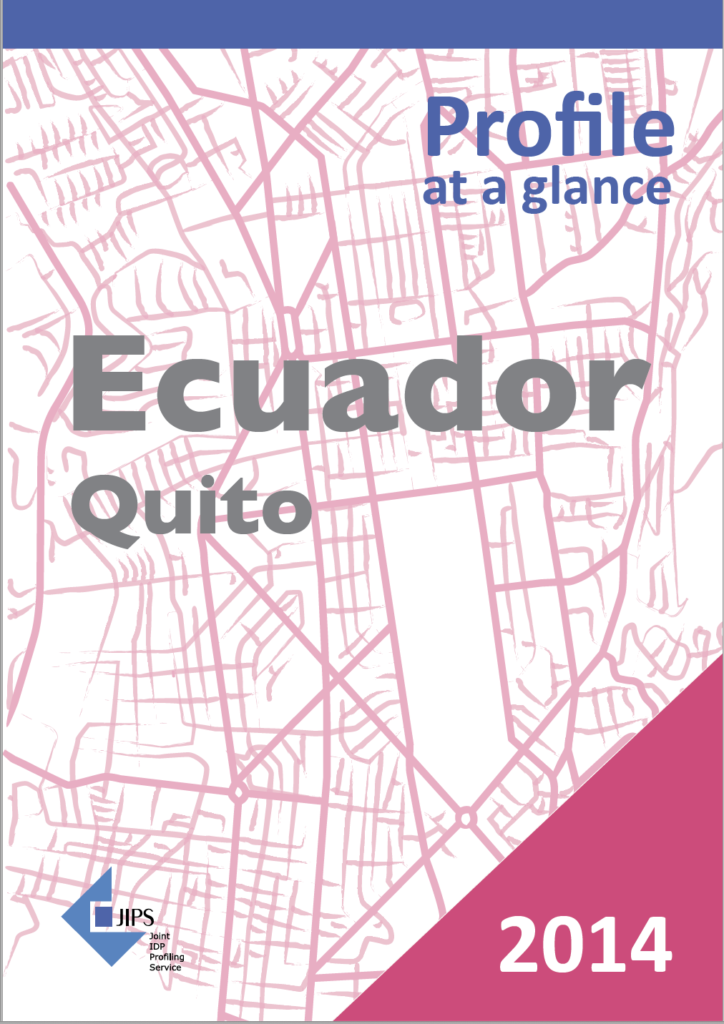 Profile at a Glance: The Use of Profiling in Ecuador (Quito, 2014)