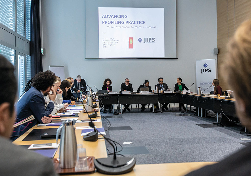 Advancing Profiling Practice for Improved Evidence on Forced Displacement: JIPS' annual event 2019