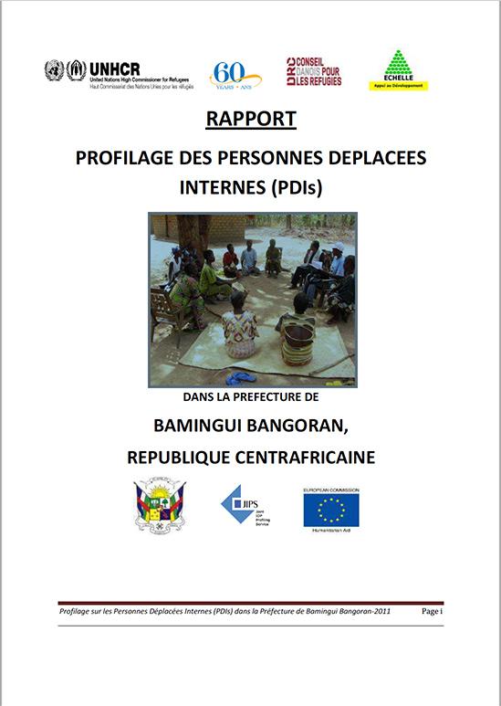 Profilage des Personnes Déplacées Internes dans la Préfecture de Bamingui Bangoran, République Centrafricaine (2011)