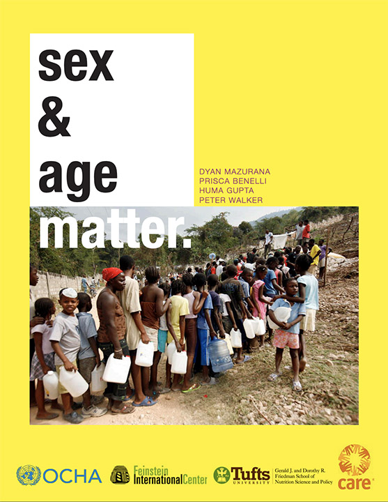 Sex and Age Matter: Improving Humanitarian Response in Emergencies (Feinstein International Center / Tufts, 2011)