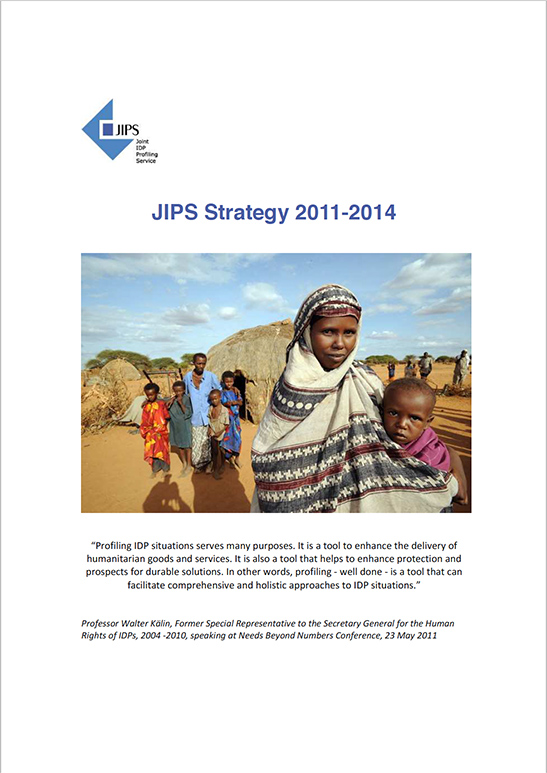 JIPS Strategy 2011 - 2014: Transition and Consolidation Phase