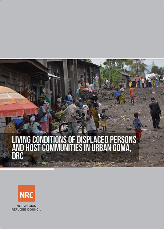 Living Conditions of Displaced Persons & Host Communities in Urban Goma (Democratic Republic of Congo, 2014)