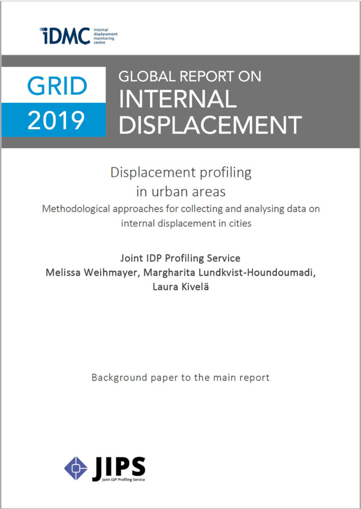 IDMC' Global Report on Internal Displacement (GRID) 2019: Background Paper on Urban Profiling