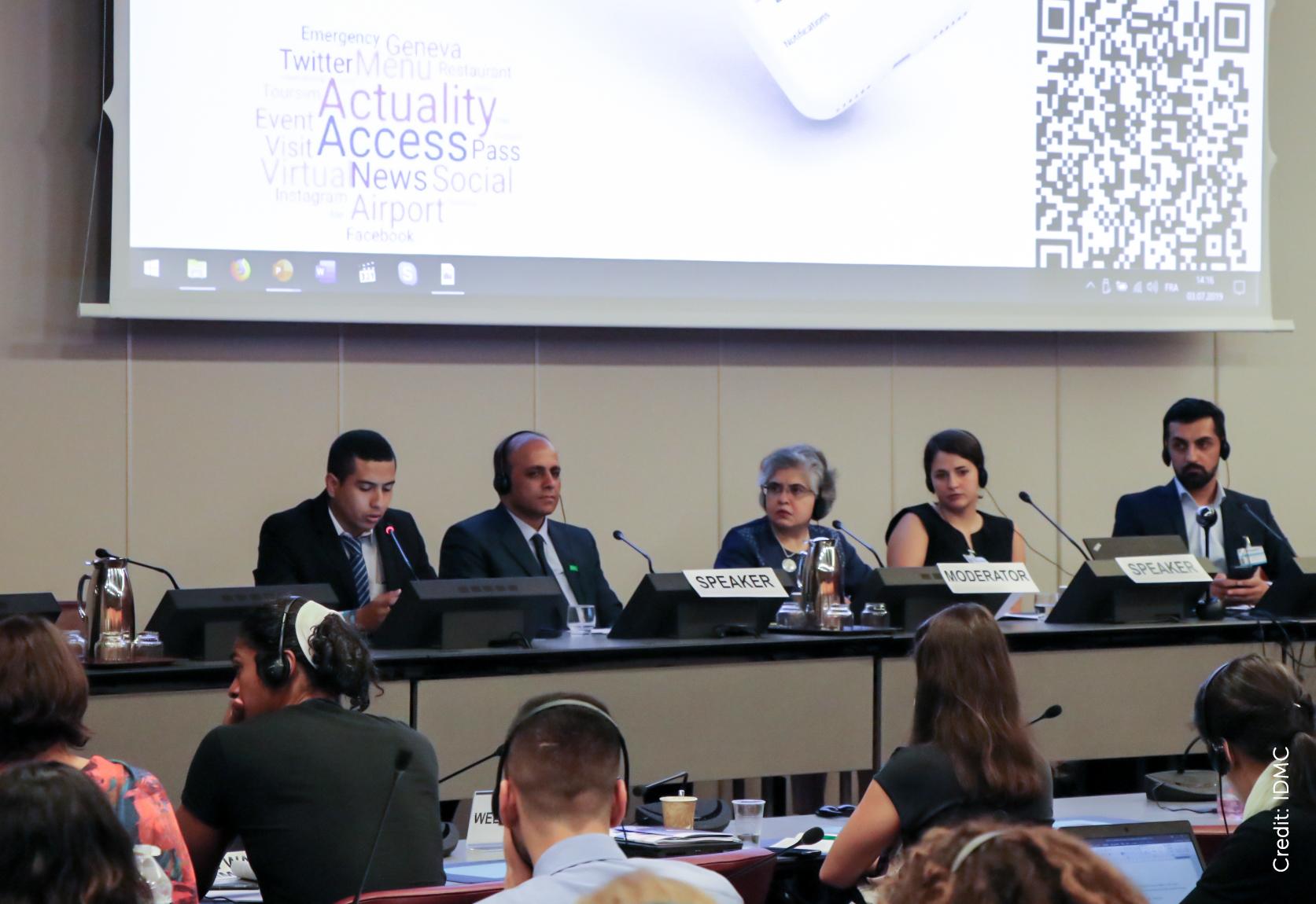 IDMC-UNHCR-NGOconsultations-Jun2019-panel