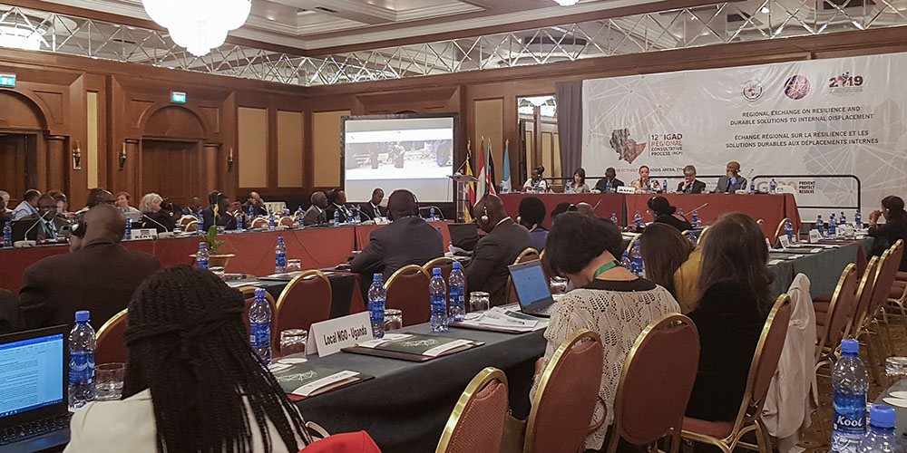 IGAD-GP20 Regional Exchange on Internal Displacement: Key Takeaways for Durable Solutions Analysis