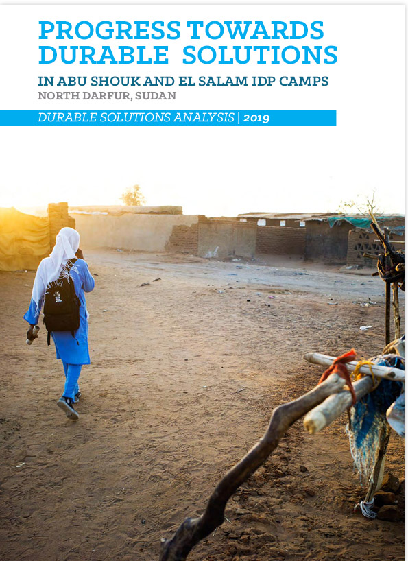 Progress Towards Durable Solutions in Abu Shouk & El Salam IDP Camps North Darfur (Sudan, 2019)