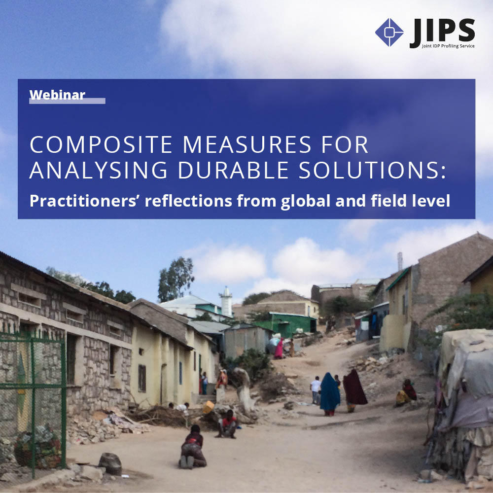 Composite Measures for Analysing Durable Solutions: Practitioners' Reflections from Global and Local Level