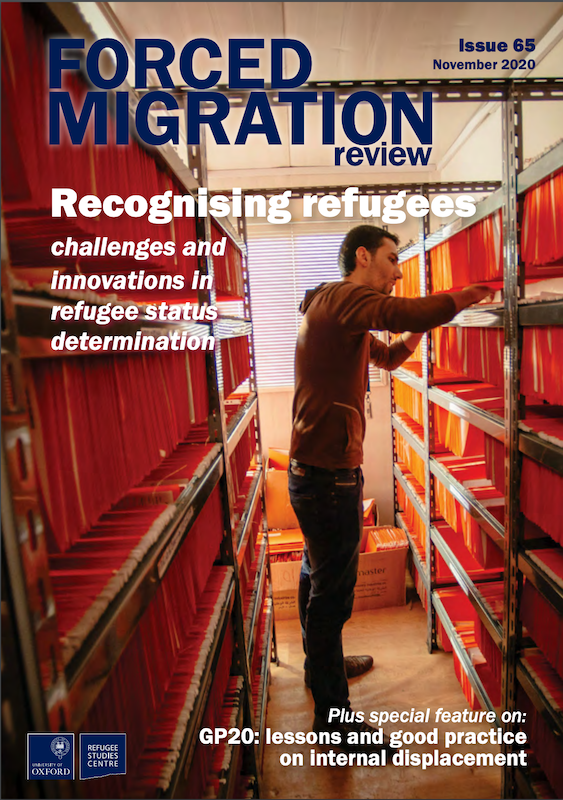 Forced Migration Review 65: Recognising Refugees (2020)