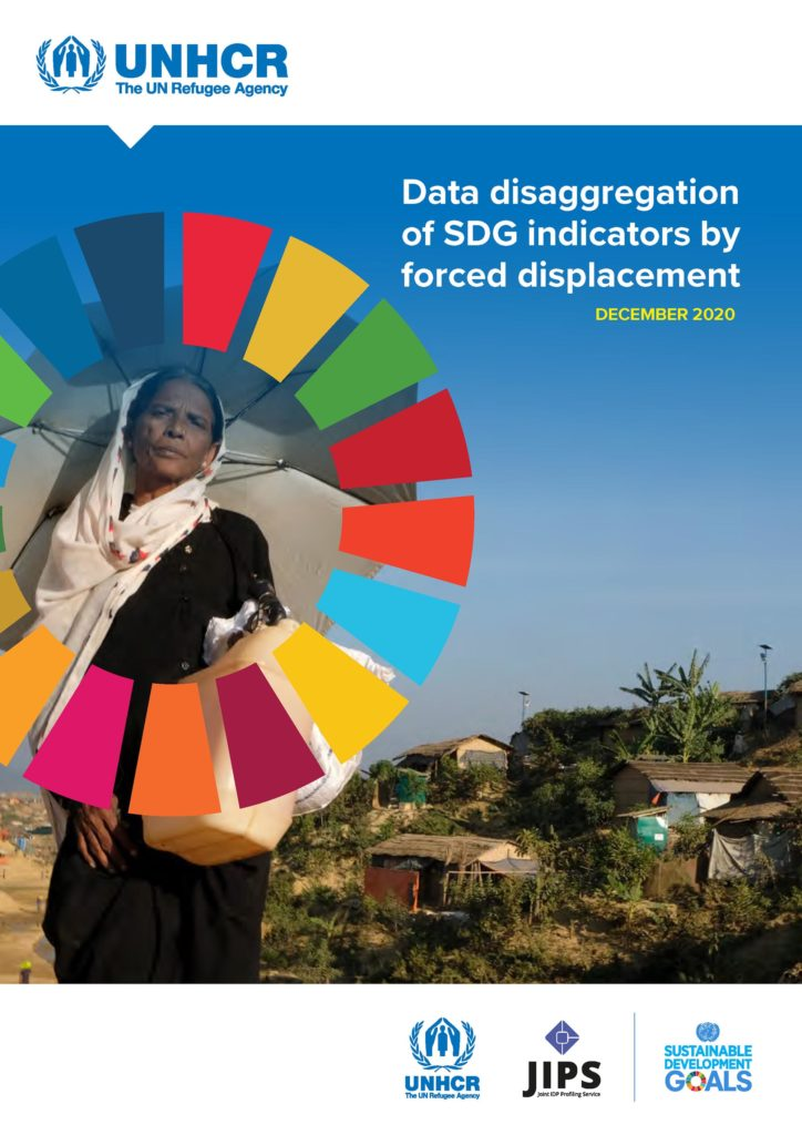 Data Disaggregation of SDG Indicators by Forced Displacement (UNHCR, JIPS, Stats4SD; Dec 2020)