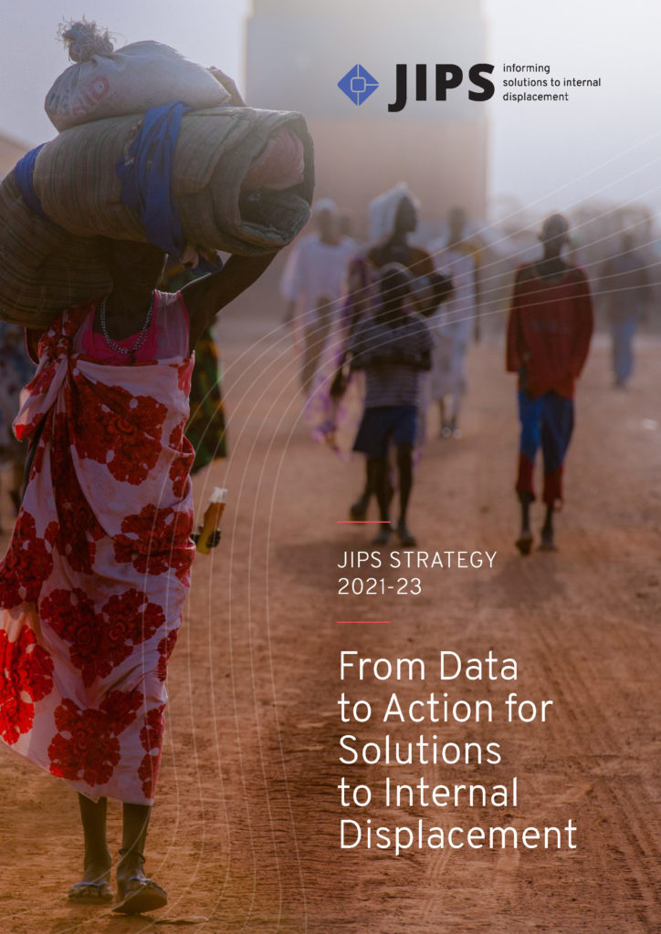 JIPS Strategy 2021-23: From Data to Action for Solutions to Internal Displacement