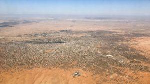 Aerial view of El Fasher, Darfur (Sudan)