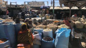 Market view in Nyala, Darfur (Sudan).