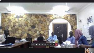 Screenshot of the training of trainers in Sudan.